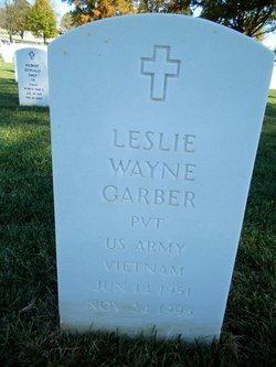Leslie Wayne Garber