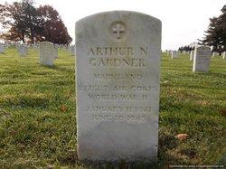2LT Arthur N Gardner