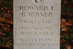 PFC Howard L Gardner