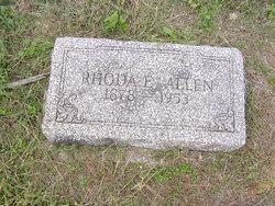 """Rhoda Elizabeth """"Betty"""" <I>Crump</I> Allen"""