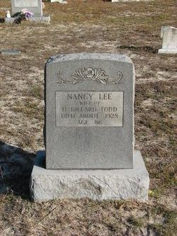 Nancy <I>Lee</I> Todd