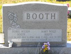 Burhl Milton Booth