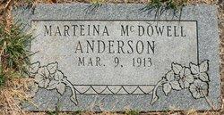Marteina <I>McDowell</I> Anderson