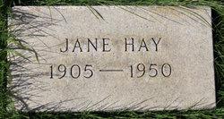 Jane Elizabeth Hay