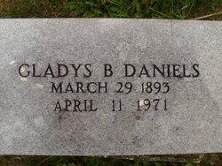 Gladys B. <I>Hatch</I> Daniels