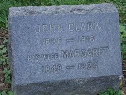 "Margaretha ""Maggie"" <I>Hergert</I> Clark"