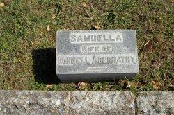 Mrs Samuella Dewess <I>Tannehill</I> Abernathy