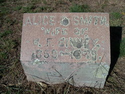 Alice <I>Smith</I> Binney