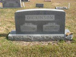 """Lydia Ann """"Liddie"""" <I>Moulder</I> Dickinson"""