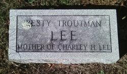 Betsy <I>Troutman</I> Lee
