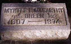 Myrtle Leora <I>McCarthy</I> Green