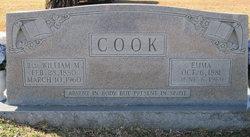 Emma Drucilla <I>Hendrick</I> Cook