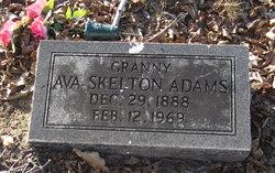 """Ava """"Granny"""" <I>Skelton</I> Adams"""