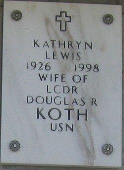 Kathryn <I>Lewis</I> Koth