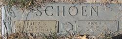 """Fredrick John """"Fritz"""" Schoen"""