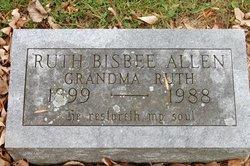 """Ruth """"Grandma Ruth"""" <I>Bisbee</I> Allen"""