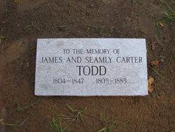 Seamly <I>Carter</I> Todd
