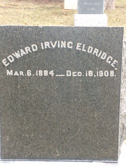 Edward Irving Eldridge