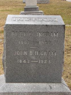 Bettie <I>Hall</I> Ingram