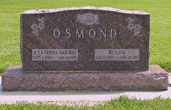 Agness Laverna <I>Vannoy</I> Osmond