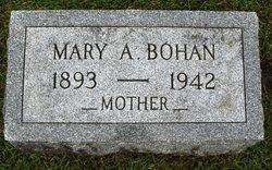 Mary A Bohan