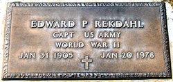 Edward Parker Rekdahl