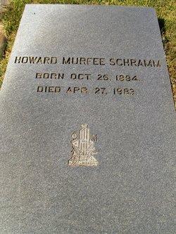 Howard Murfee Schramm, Sr