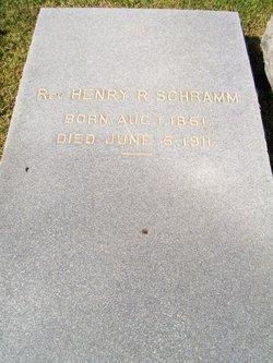 Rev Henry Robert Schramm
