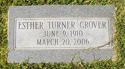 Esther Louise <I>Turner</I> Grover