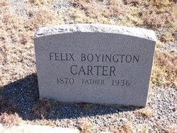 Felix Boyington Carter