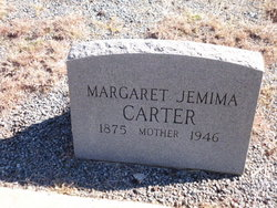 Margaret Jemima <I>McWhorter</I> Carter