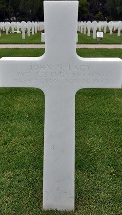 Pvt John Nyles Lacy
