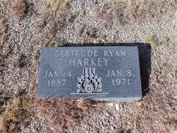 Gertrude <I>Ryan</I> Harkey