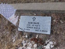 "Samuel Ralph ""Sam"" Baze"