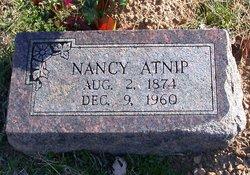 """Nancy E. """"Nannie"""" <I>Starr</I> Atnip"""