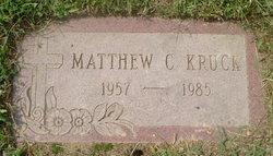 Matthew Charles Kruck