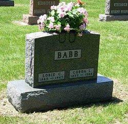 Corda Lucille <I>Davis</I> Babb