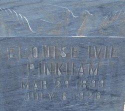 Elouise <I>Ivie</I> Pinkham