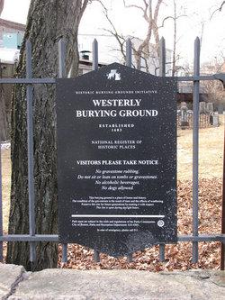Westerly Burying Ground