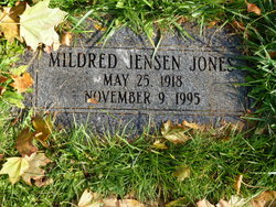Mildred <I>Jensen</I> Jones