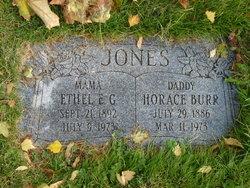 Ethel Elizabeth <I>Geiger</I> Jones