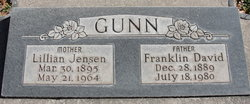 Lillian Juanita <I>Jensen</I> Gunn
