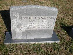 Annie Elizabeth <I>House</I> Pendleton