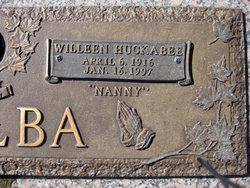 "Willeen ""Nanny"" <I>Huckabee</I> DeAlba"