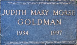 Judith Mary <I>Morse</I> Goldman