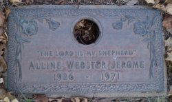 Alline <I>Webster</I> Jerome