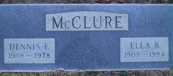 Dennis E McClure