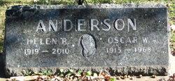 Oscar W Anderson