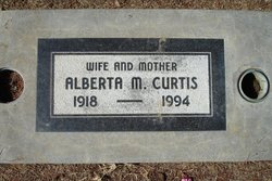 Alberta Matilda <I>Beck</I> Curtis