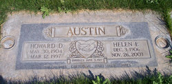 Helen Elizabeth <I>Keener</I> Austin